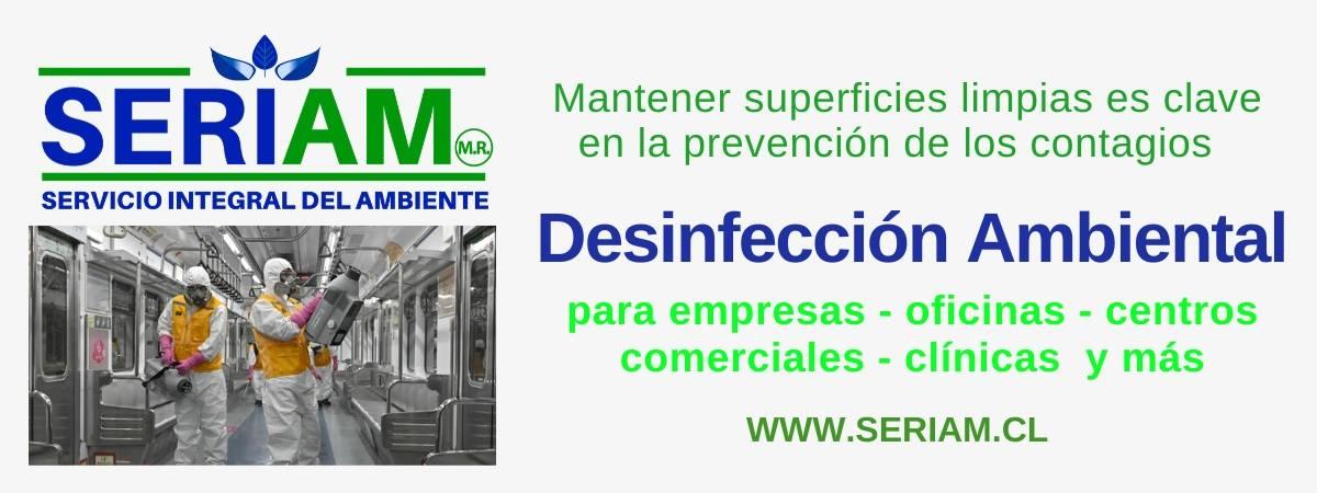 Desinfección ambiental empresas