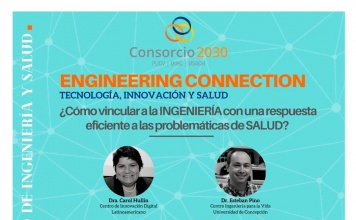 """ciclo de divulgación científica """"Engineering Connection"""""""
