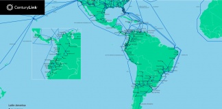 Red de Fibra Óptica en América Latina