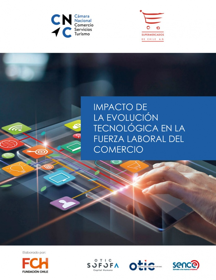 Impacto de la Tecnolíca en la fuerza laboral del comercio