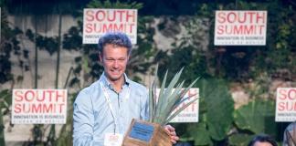 Alexander Theis de TINK, premio a la empresa mas escalable de SOUTH SUMMIT MEXICO 2018