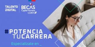 Corfo y Talento Digital ofrecen becas para especialización en los perfiles digitales más demandados en Chile