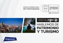 """Webinar """"Digital coffee, hablemos de Patrimonio y Turismo"""""""