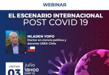 """Webinar SEK """"El escenario internacional post COVID-19"""""""