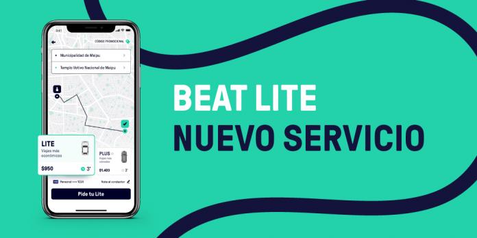 Beat Lite: el servicio que llega a Chile para ampliar la oferta de movilidad de las personas en la etapa de transición