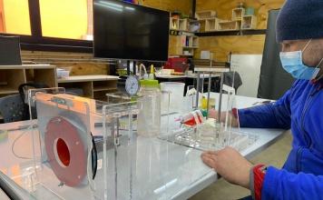 Dispositivo certificador de mascarillas quirúrgicas fue desarrollado en Laboratorio de Prototipado del Centro de Innovación USACH