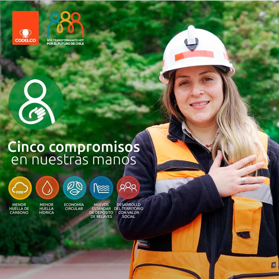 Codelco - compromisos de desarrollo sustentable a 2030
