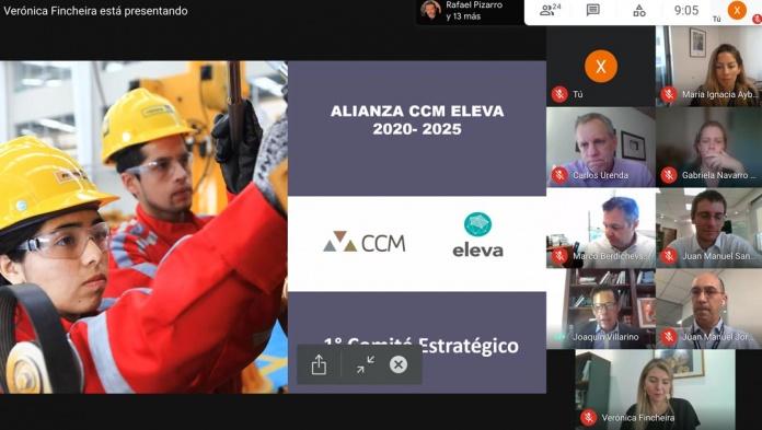 CCM Y ELEVA SE UNEN PARA POTENCIAR SU APORTE AL PAÍS
