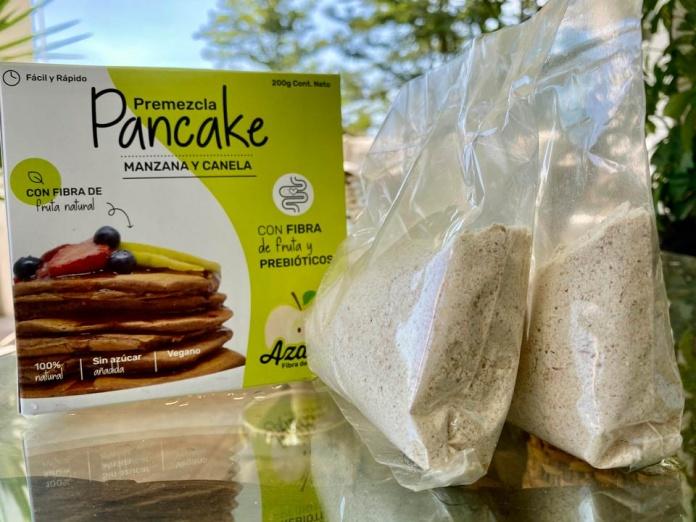 Nuevos pancakes elaborados con residuos de manzana llegan al mercado