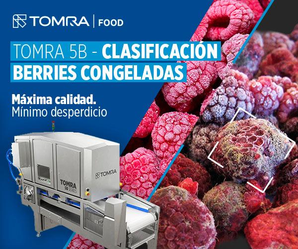 TOMRA 5B Raspberries Dynamic - Clasificadora de berries congeladas frutas verduras