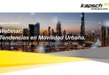 """Webinar sobre """"Tendencias en Movilidad Urbana"""""""