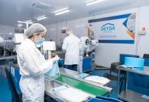 Mascarilla elaborada en Chile mata el virus que puede causar COVID-19