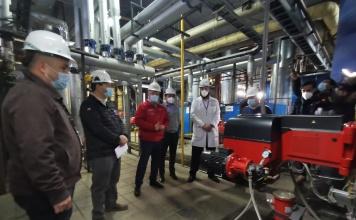 Autoridades visitan proyecto de eficiencia energética de Hospital Regional de Concepción
