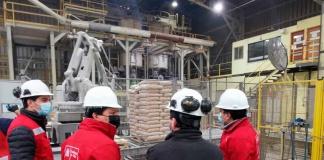 Autoridades visitan empresa de pellet que abastece al 50% del país