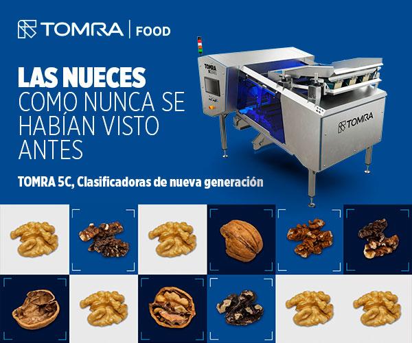 Clasificadora de frutos secos y nueces TOMRA 5C TOMRA Food