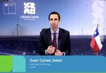 """Ministro Jobet en el marco de la cumbre de energías limpias CEM12 / MI-6: """"El 2050 es ahora, si no actuamos en esta década, no lograremos nuestros objetivos globales para la carbono neutralidad"""""""