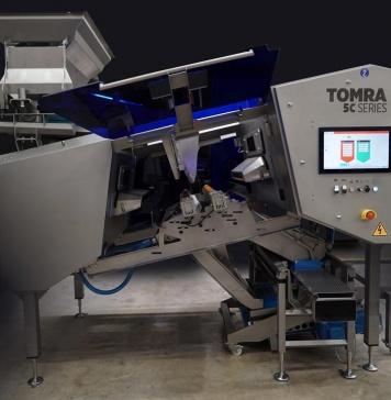 TOMRA Food reúne la mejor ingeniería e inteligencia del sector en su nueva TOMRA 5C para nueces y frutos secos