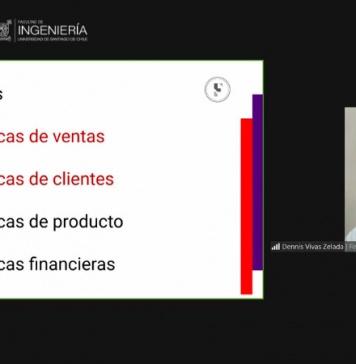 """Emprendedores de la USACH participaron en taller """"Cifras de Mercado"""" del Centro de Innovación de la FING"""