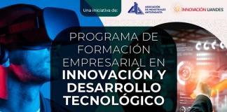 AIA estrena inédito Programa de Formación Empresarial en Innovación junto a la Universidad de Los Andes Postulaciones para un máximo de 25 cupos pueden realizarse hasta el 18 de agosto, incluyendo valores preferenciales para empresas AIA y proveedores de SICEP.