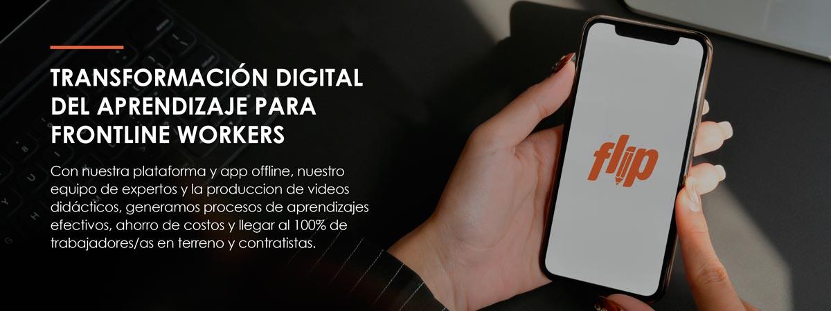 Transformación Digital del aprendizaje para empresas Flip