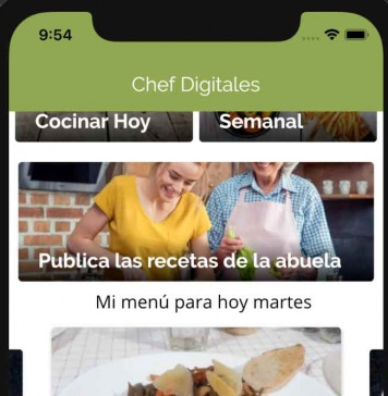 Chef Digitales: cómo utilizar la aplicación gratuita con más de mil recetas para cocinar