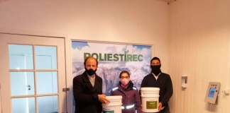 Chilenos transforman desechos de plumavit en pinturas y recubrimientos para nuevos proyectos inmobiliarios