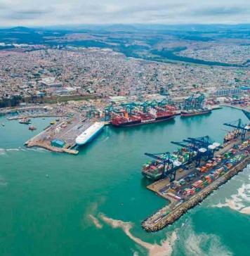 Puerto San Antonio incrementó un 11% su transferencia de carga acumulada a julio