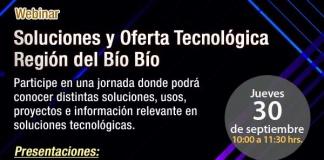 Webinar AIE Soluciones y Oferta Tecnológica Región del Bío Bío
