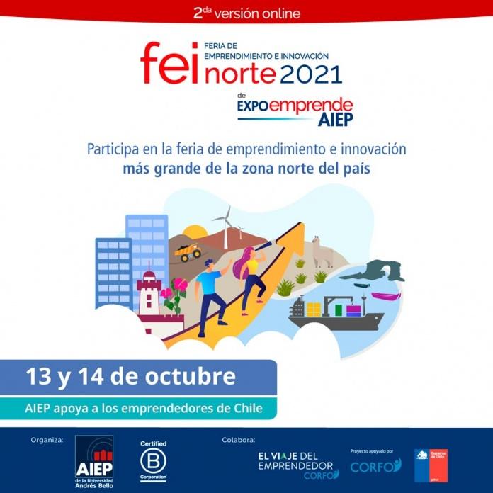 Feria de Innovación y Emprendimiento FEI Norte se desarrollará el 13 y 14 de octubre y cerrará exitoso ciclo